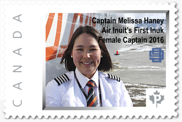 New Stamp Issued 2017 Honouring Captain Melissa Haney