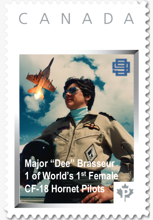 CANADIAN AVIATRIX STAMPS