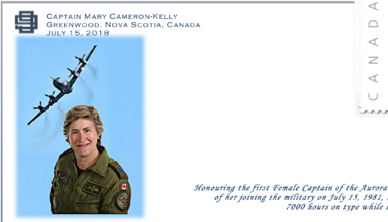NEW STAMP 2018 – Celebrating the achievements of Mary Cameron-Kelly