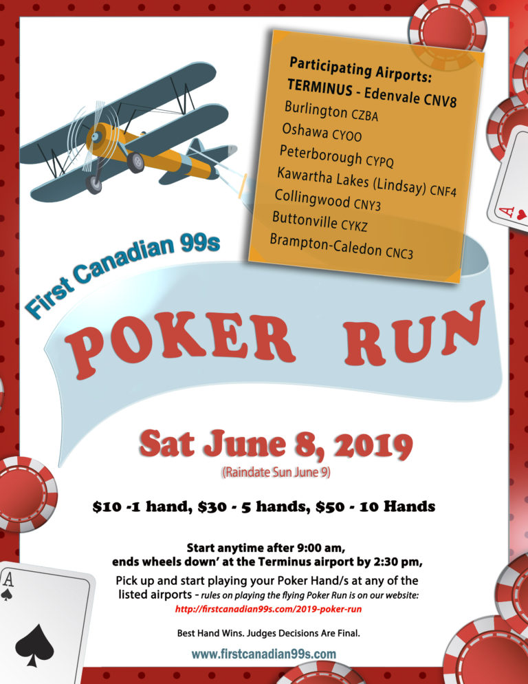 It's Time Again for a POKER RUN!
