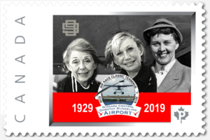 THE NEW 2019 STAMP HONOURS OUR 90th ANNIVERSARY OF WOMEN AIR RACERS!