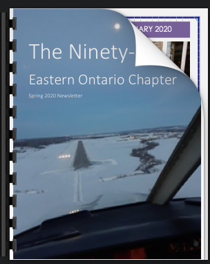 Read the latest Eastern Ontario Chapter Newsletter