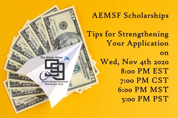 AEMSF Scholarships – Tips for Strengthening Your Application