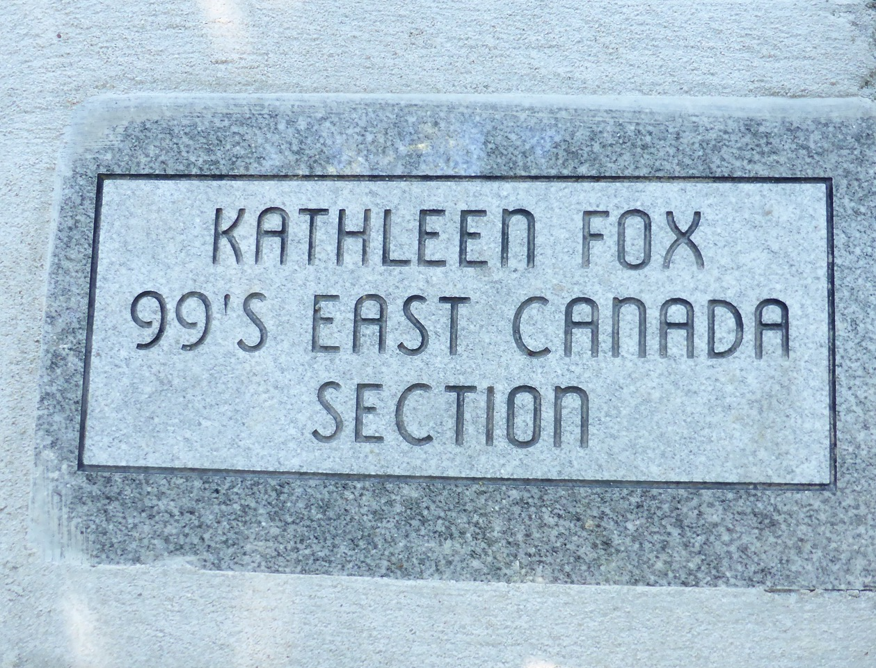 Kathy Fox Inducted in to the Forest of Friendship